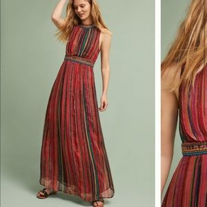NWOT Anthropologie Artista Maxi Dress